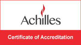 Achilles: Certificate of Accreditation